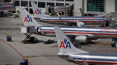 airlines)从迈阿密前往波士顿的160航班客机挡风玻璃裂口,驾驶员看到