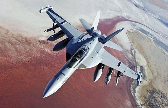 电子战飞机:美军ea-18g电子战机