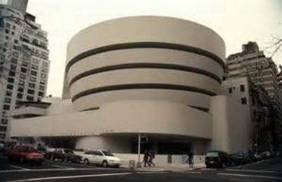 美国纽约古根海姆博物馆手绘图也