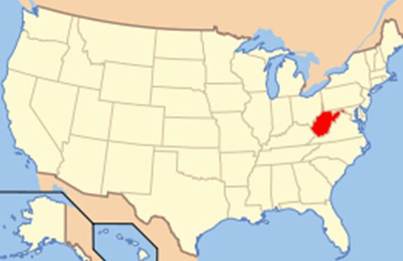 西弗吉尼亚州是在美国南北战争时期由当时的弗吉尼亚