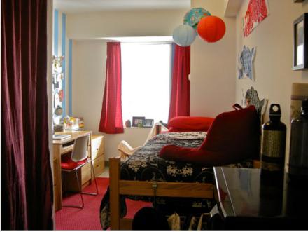 美国东北大学宿舍 舒适豪华似酒店