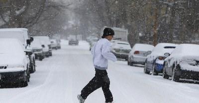 美国的冬天